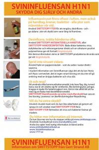 Informationsblad svininfluensa